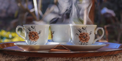 3 кружки чая