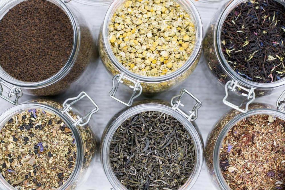Банки для хранения чай