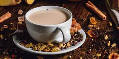 Чашка с чаем масала