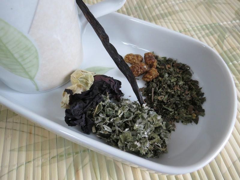 Сбор травяного чая