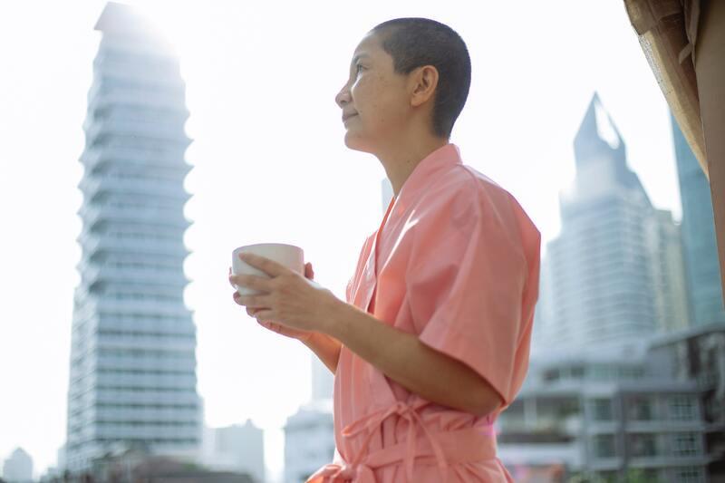 Китай женщина чай