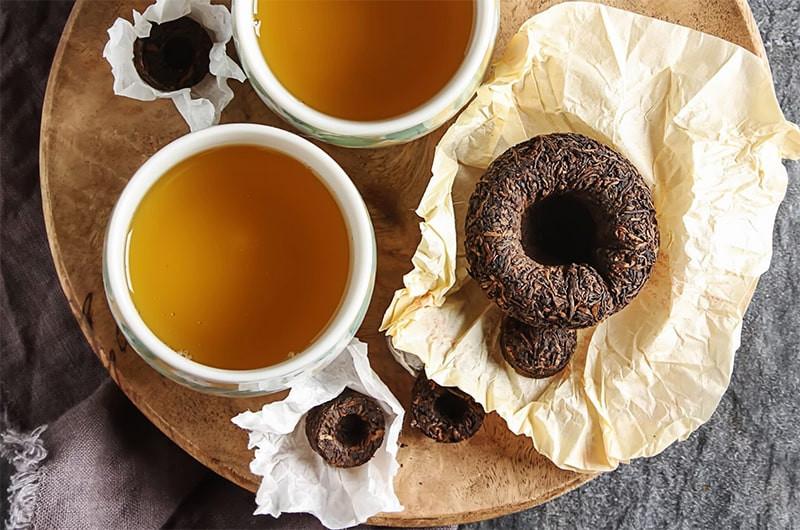 Чашки чая прессованный пуэр