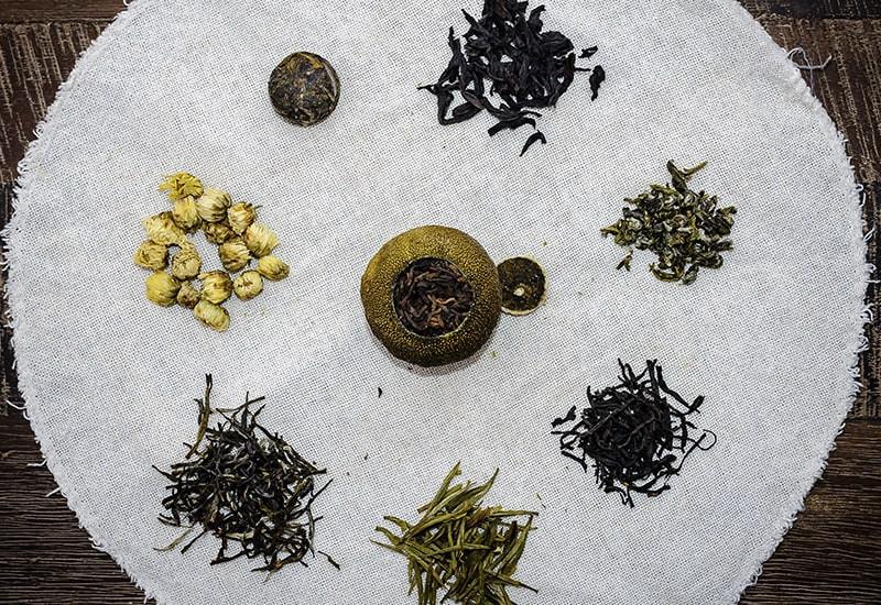 Разновидности чайной заварки