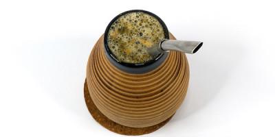 Калабас с чаем мате
