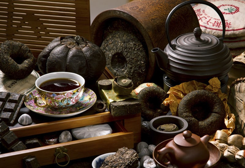 Китайский чай чашка чайник