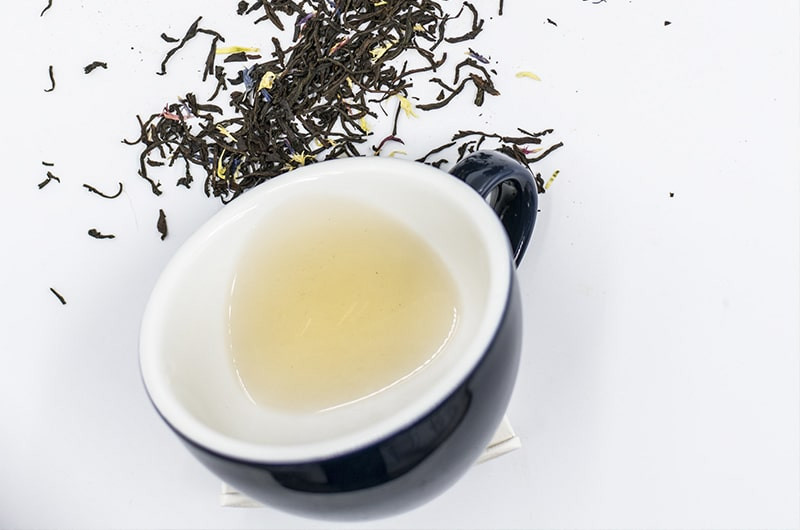 Светлый чай заварка рассыпная