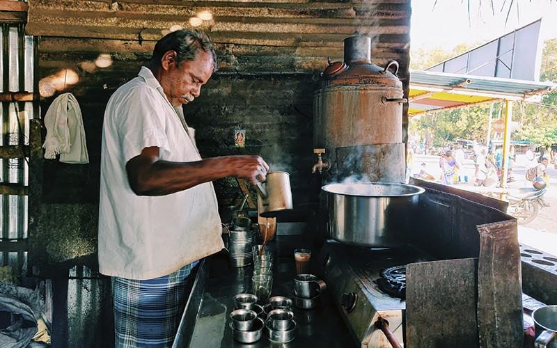 Индийский чайный повар