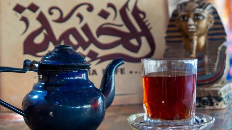 Чайник стакан сфинкс