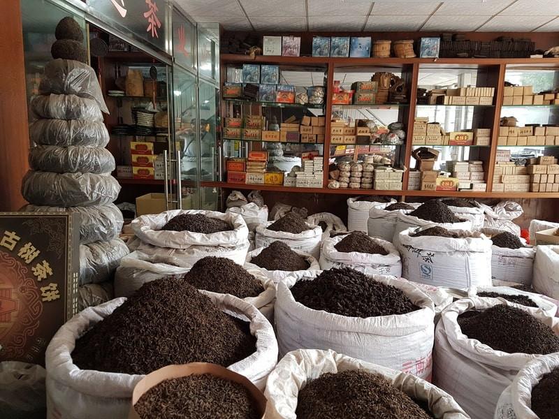 Черный чай в мешках
