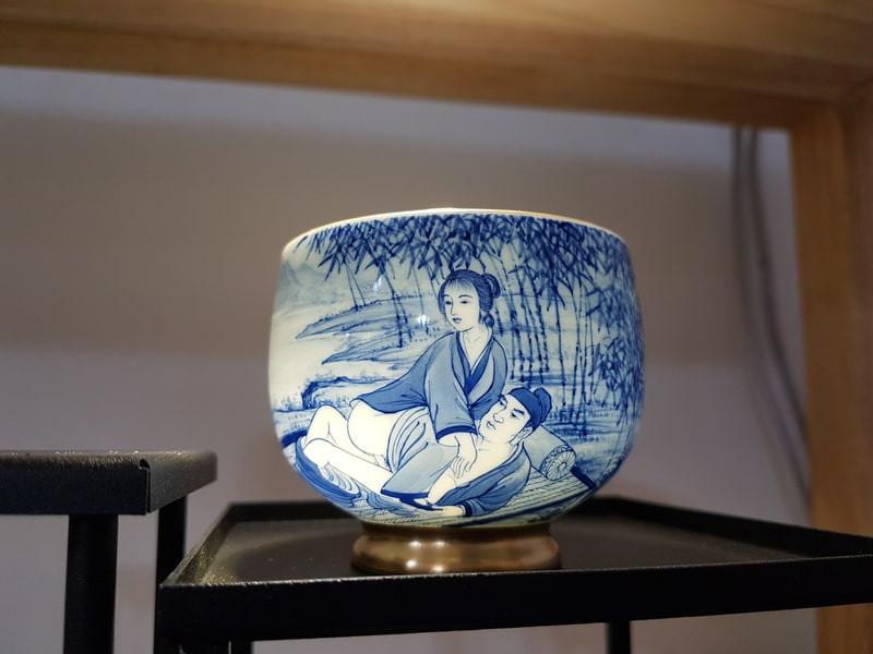Старинная китайская ваза
