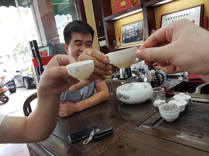Чаепитие с друзьями