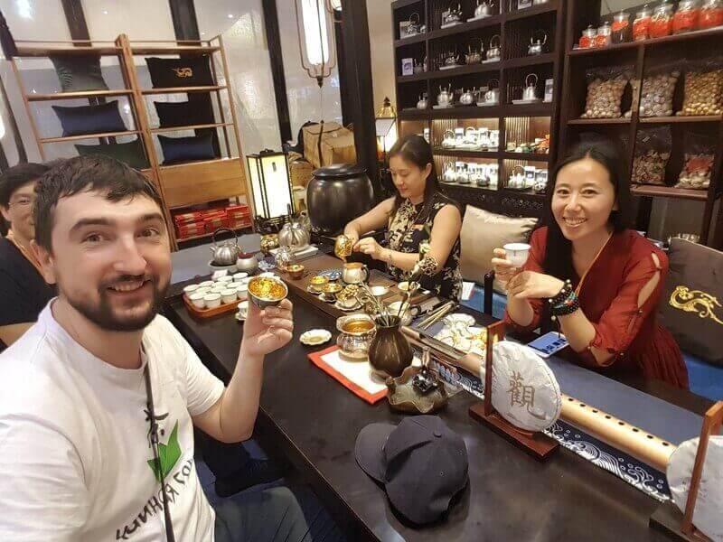 Мастера чайной церемонии в Китае