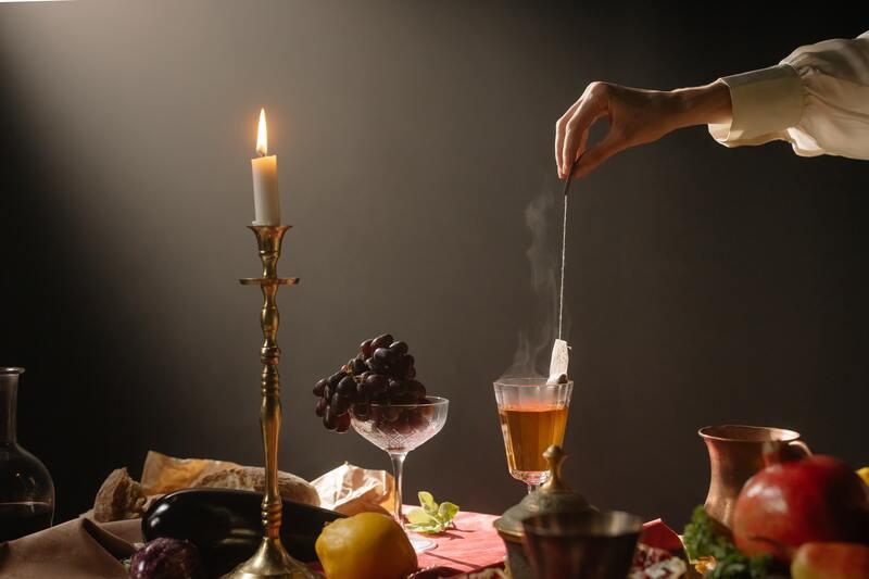 Чай при свечах