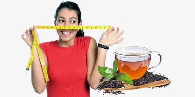 Чай девушка с измерительной лентой