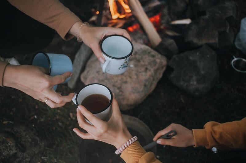 Чаепитие на пикнике