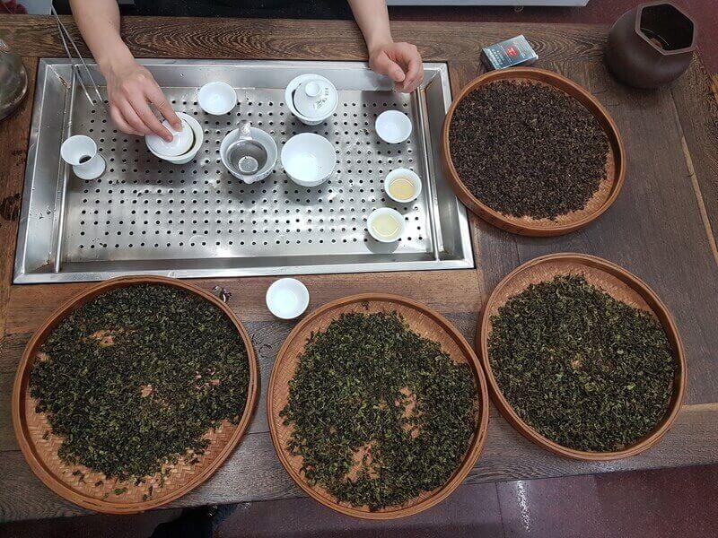 Разновидность китайского зеленого чая