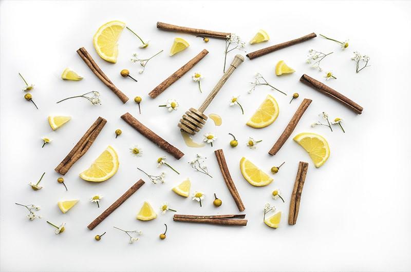 Корица лимон мед