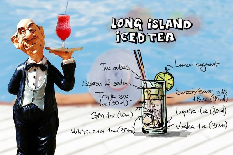Официант рецепт чая со льдом