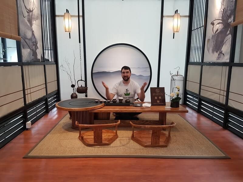 Чайная комната китайская