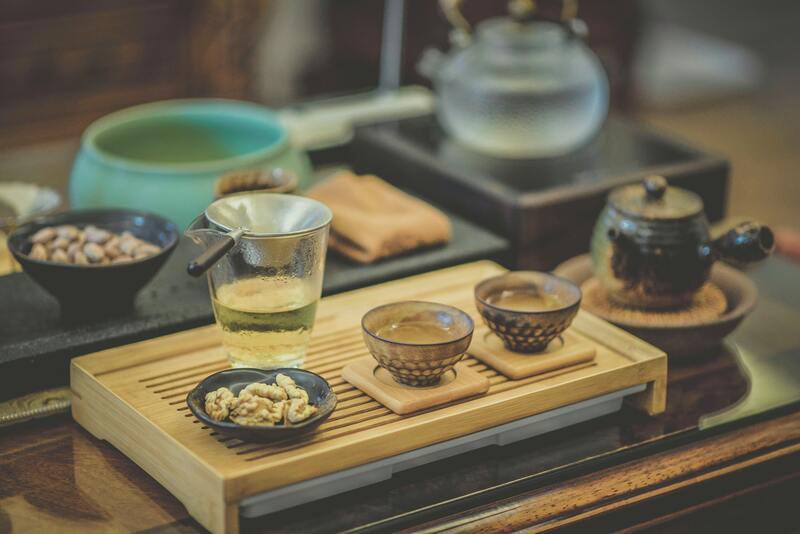 Китайская чайная посуда церемония