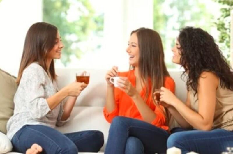 Чаепитие в компании