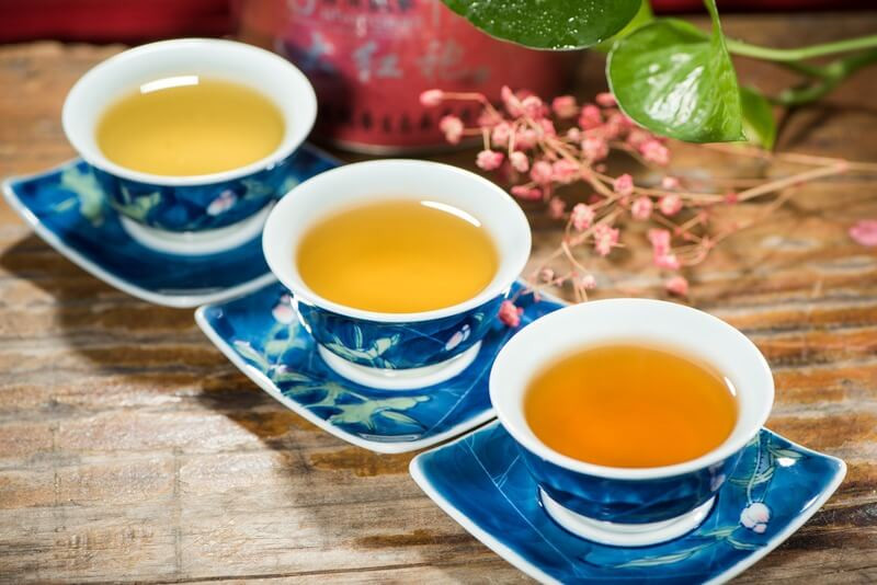 3 чашки чая