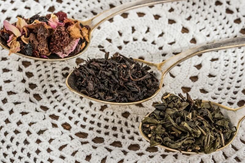 Чай на ложках