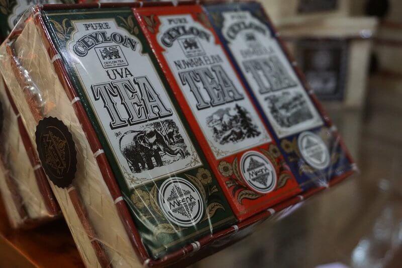 Упаковка цейлонского чая
