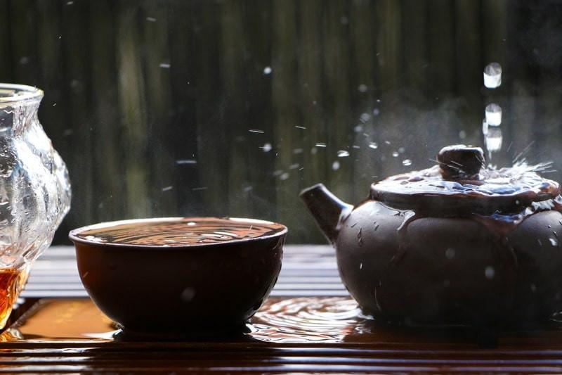 Пиала чайник капли