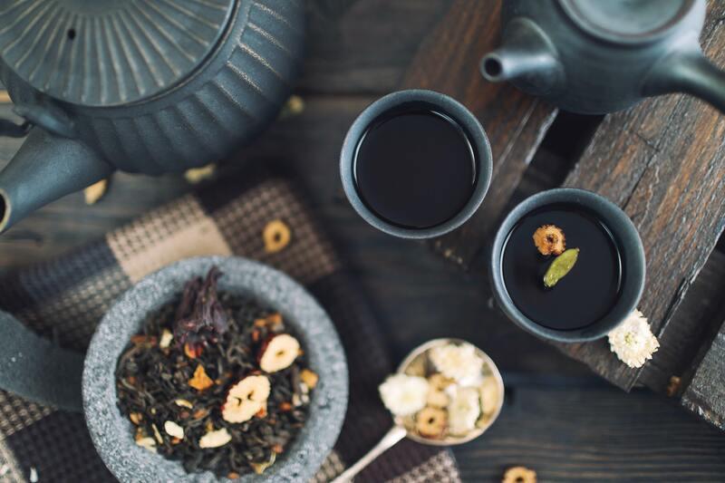 Заварка чайник кружки
