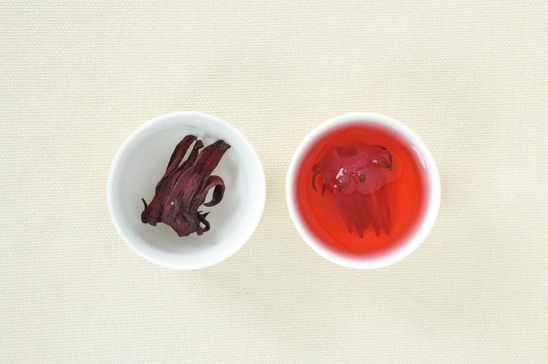 Чай каркаде лепестки напиток