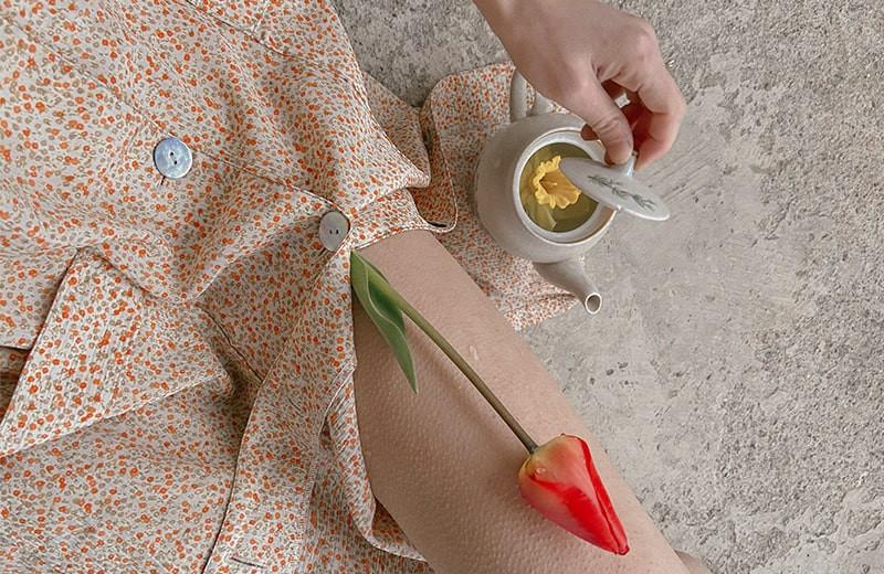 Травяной чай красный тюльпан