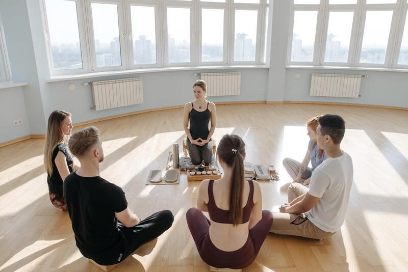 Группа медитация