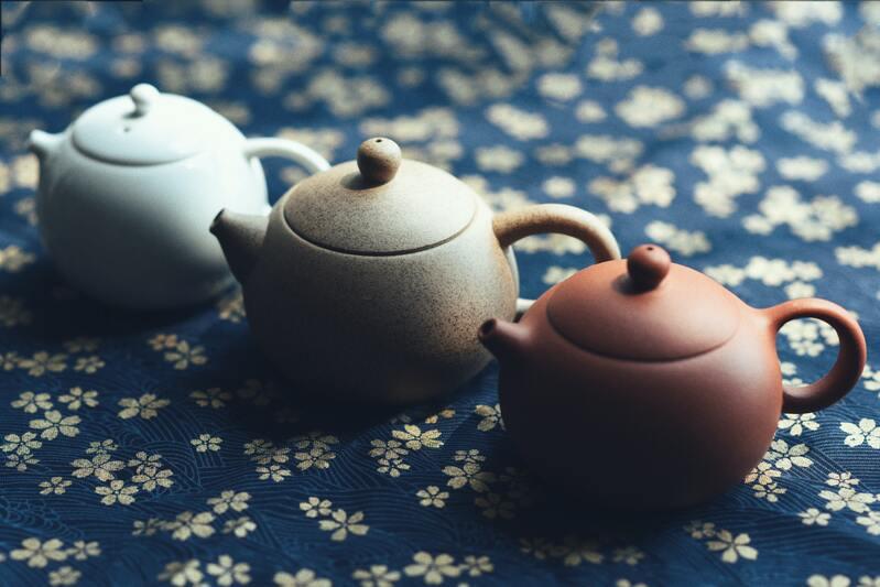 Три китайских чайника