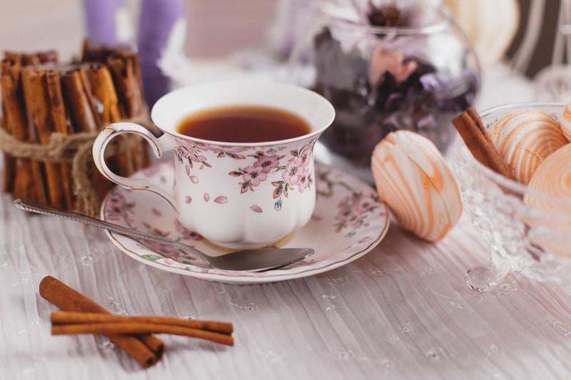 Чай утро завтрак