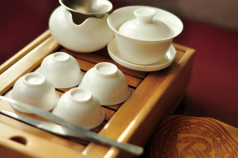 Чайная посуда белая