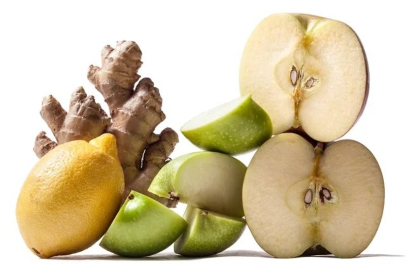 Яблоко лимон имбирь